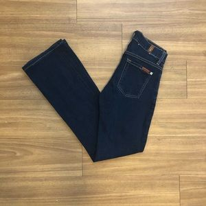 7 for all mankind the skinny bootcut jeans size 26